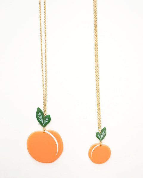 Peach Necklace