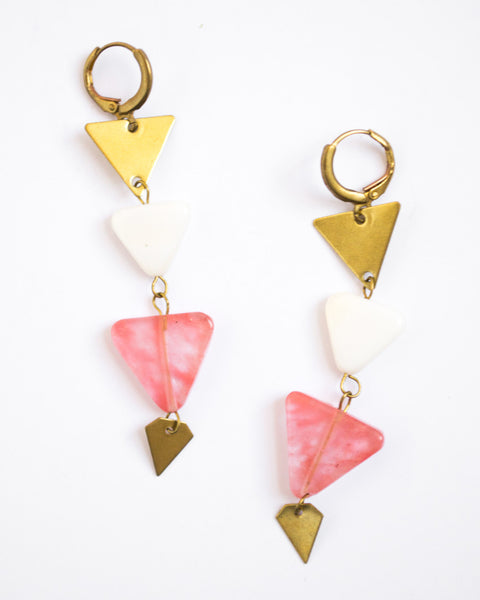 Sunset Dangle Earrings