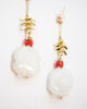 Solar Quartz Earrings