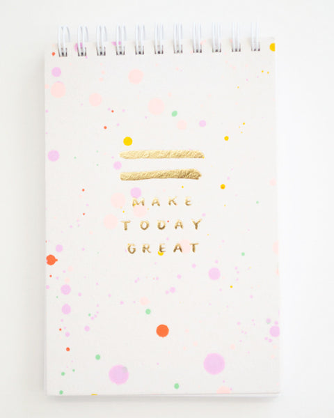 Confetti Jotter Notepad