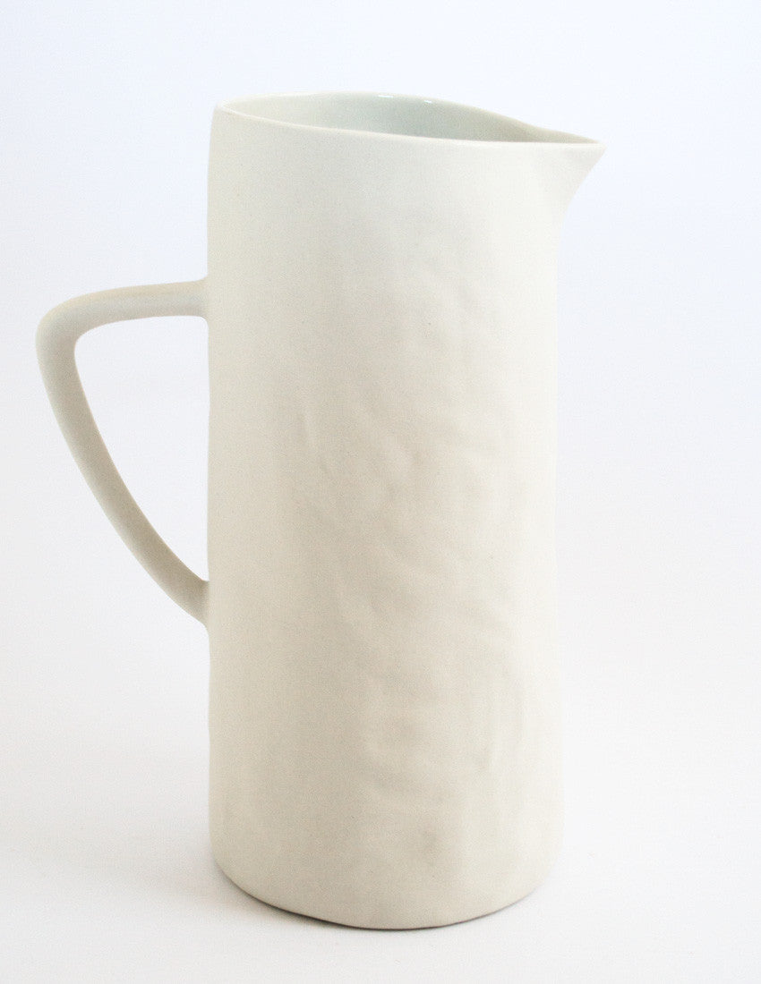 Eggshell Pitcher