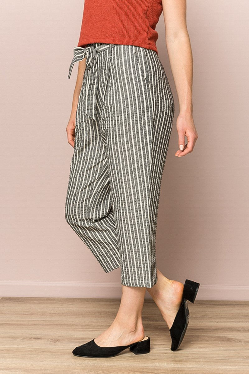 Paper Bag Stripe Pant