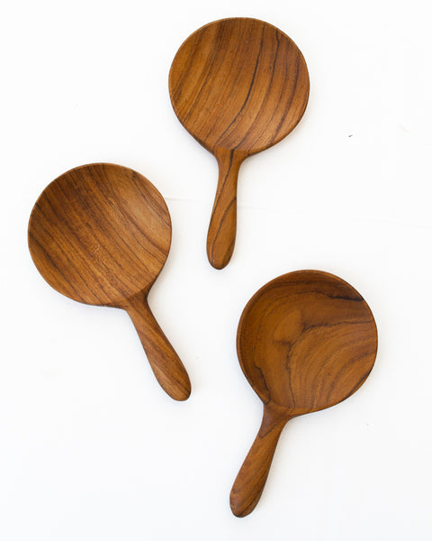Teakwood Scoop Spoon