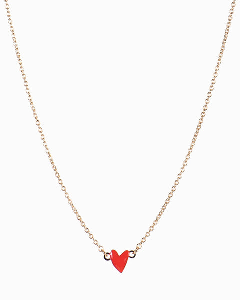 Heart Grant Necklace