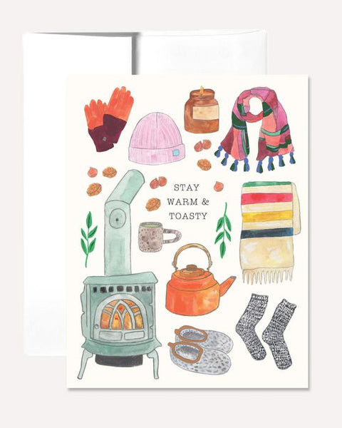 Warm and Toasty Greeting Card