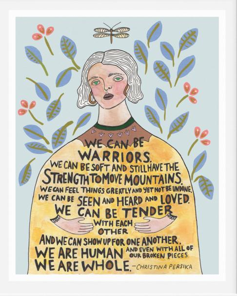 Warriors Print
