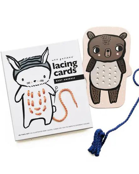 Animal Lacing Cards