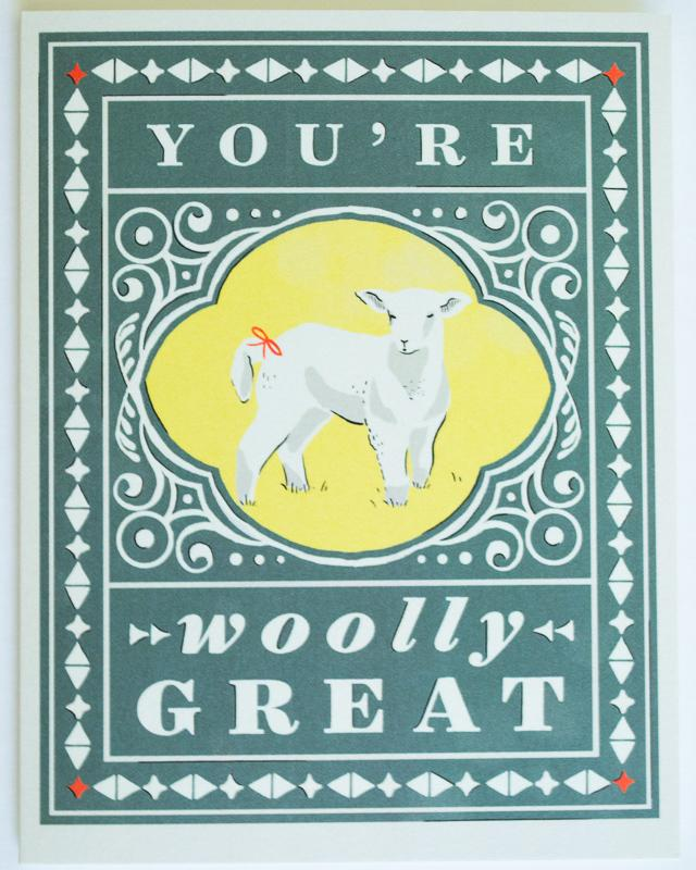 Wooly Great Card