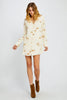 Anona Wildflower Mini Dress