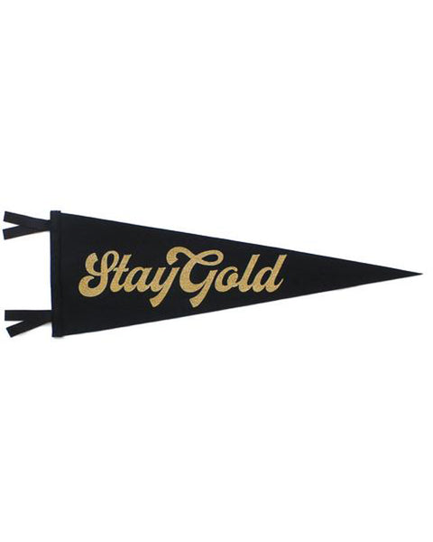 Stay Gold Pennant