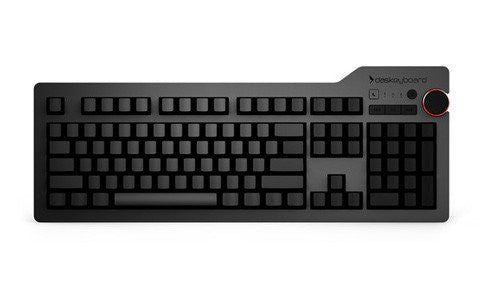Das Keyboard 4 Ultimate Mechanical Keyboard (Cherry MX Blue Switches)