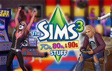 The Sims 3 70s, 80s, & 90s Stuff pack Mac Game