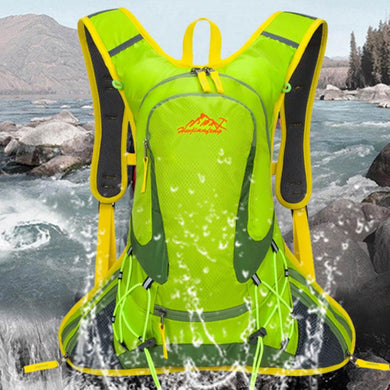 Huwaijianfeng Durable Waterproof Package Lightweight Travel Trekker Backpack Sports Bag Spring travel essential