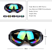 Unisex Adult Ski Goggles UV Protection Windproof Unbreakable Goggles Tactical Military Snowmobile Bicycle Motorcycle Sports Eyewear