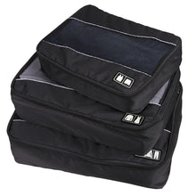 Travel Packing Cube (Small-Large 3 Piece) for Carry-on Travel Accessories. Suitcase and Backpacking (Single Compartment)