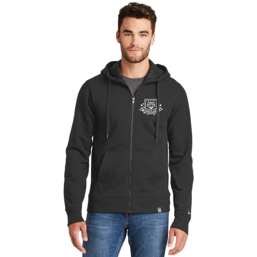 French Terry Prague Full-Zip Hoodie- Men's