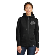French Terry Prague Full-Zip Hoodie- Women's