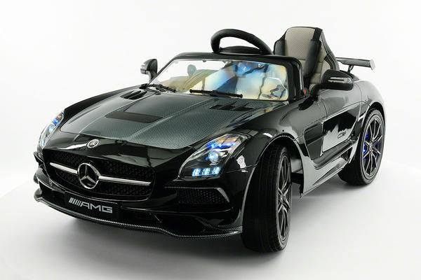 2018 Black Mercedes Benz Sls Final Edition Ride On Toy Car