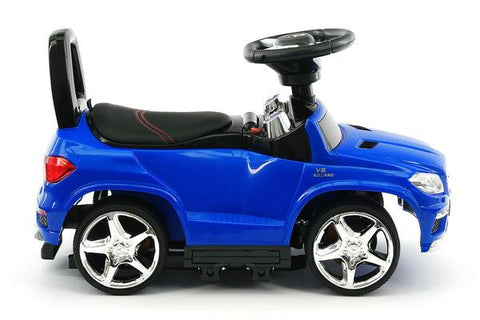 Blue Mercedes Benz Gl63 Push Car Amp Stroller Function