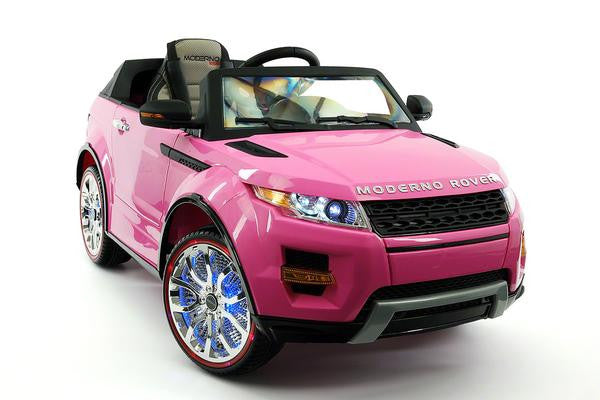 2018 Pink Range Rover Evoque Ride On Toy Car Licensed Luxury Cars
