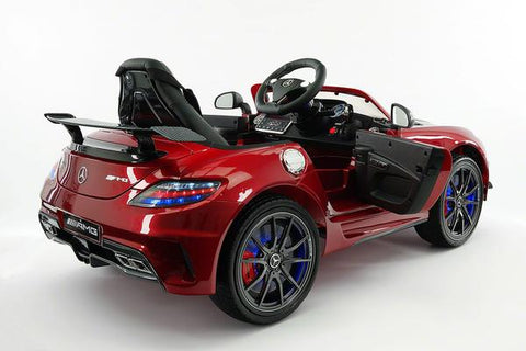2018 Cherry Red Mercedes Benz Sls Final Edition Ride On Toy Car