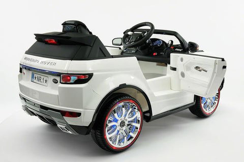 2018 White Range Rover Evoque Ride On Toy Car Licensed Luxury Cars