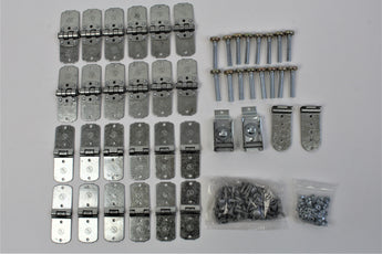 44 Piece TODCO Roll Up Door Hardware Kit w/ Fasteners