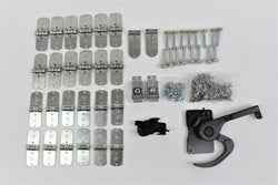 46 Piece TODCO Roll Up Door Hardware Kit w/ Lock & Keeper