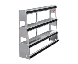 Glass Rack-Shelf Combo Unit
