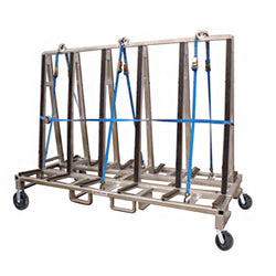 Economy Glass Transport Rack (3,600 lb) - 48