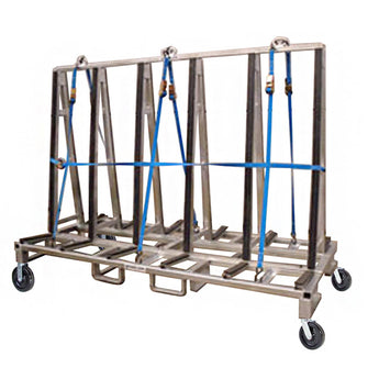 Economy Glass Transport Rack (3,600 lb) - 60