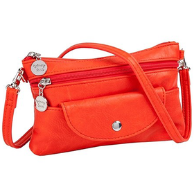 30926 Orange Cell Cross Body