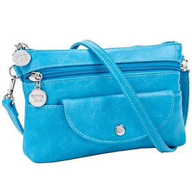 30929 Turquoise Cell Cross Body