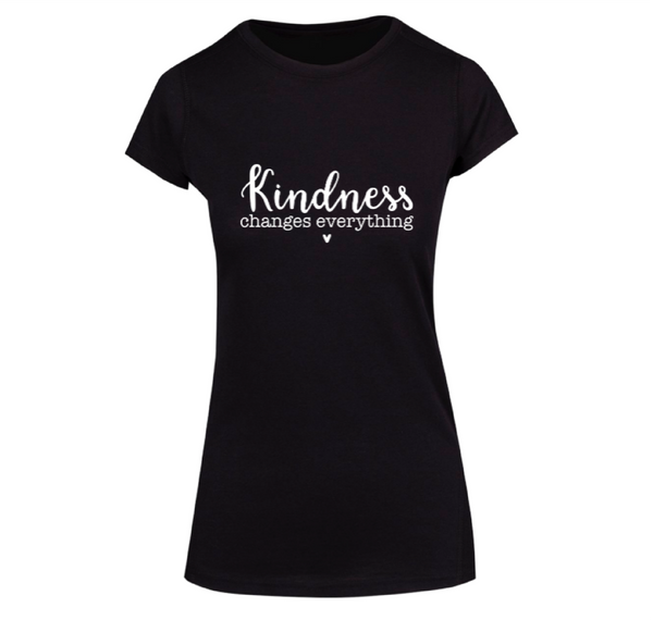 Kindness Changes Everything - Ladies Short Sleeve Tee