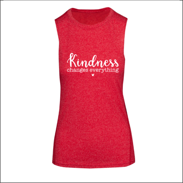 Kindness Changes Everything - Ladies Sleeveless Tee