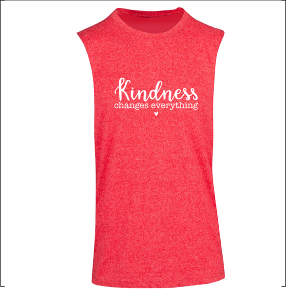 Kindness Changes Everything - Mens Sleeveless Tee