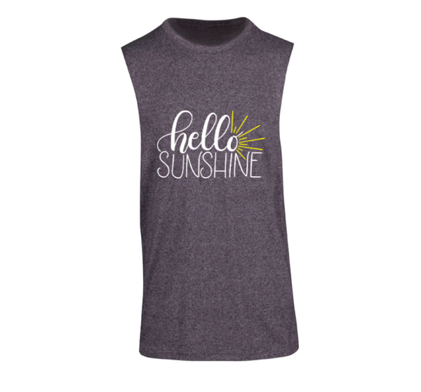 Hello Sunshine - Mens Sleeveless Tee