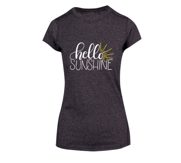 Hello Sunshine - Ladies Short Sleeve Tee