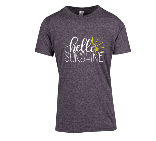 Hello Sunshine - Mens Short Sleeve Tee