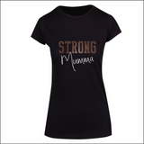 Strong Mumma - Ladies Short Sleeve Tee