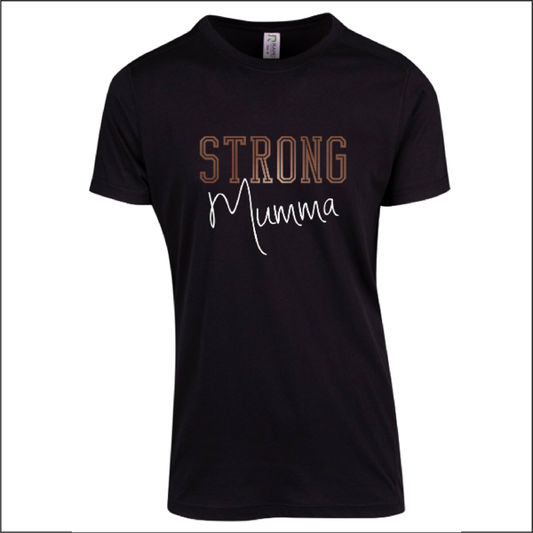 Strong Mumma - Mens Short Sleeve Tee