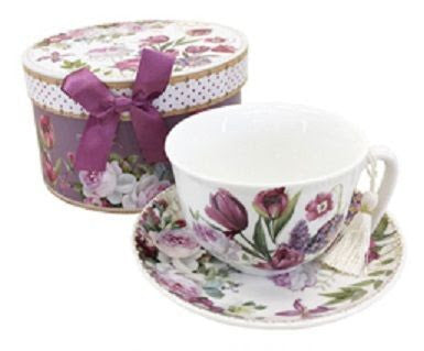 Tulip Teacup and Saucer - Giftboxed - RRP $18.50