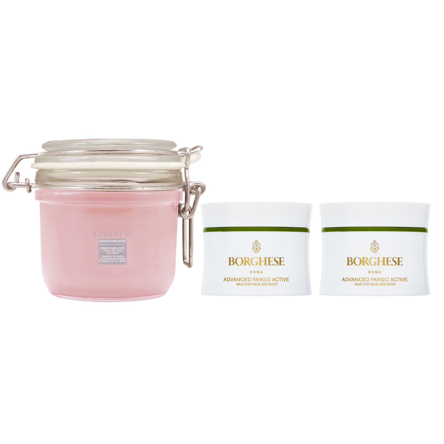 【Buy 1 get 2 Free】Anniversary Limited Fango Mud Mask Set (Brightening)