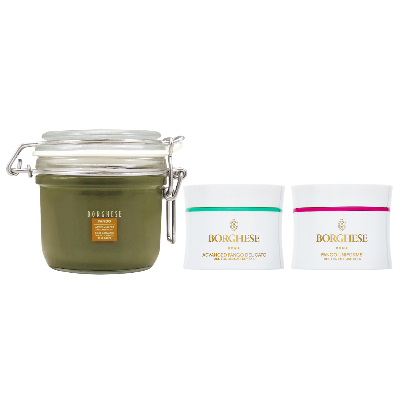 【Buy 1 get 2 Free】Anniversary Limited Fango Mud Mask Set (Active)