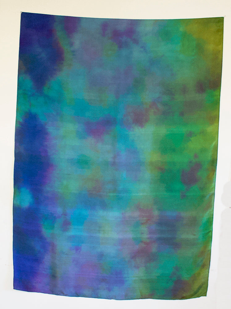 Sarong, Shawl Silk Earth From Space