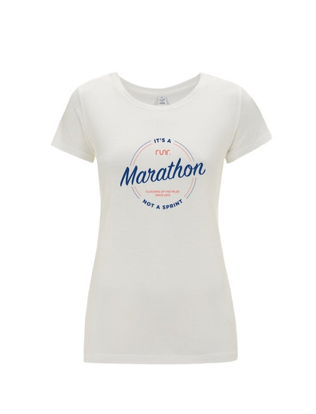 Women's Marathon Not A Sprint T-Shirts