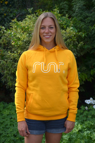 Women's Midnight Runr Hoodies - Mango