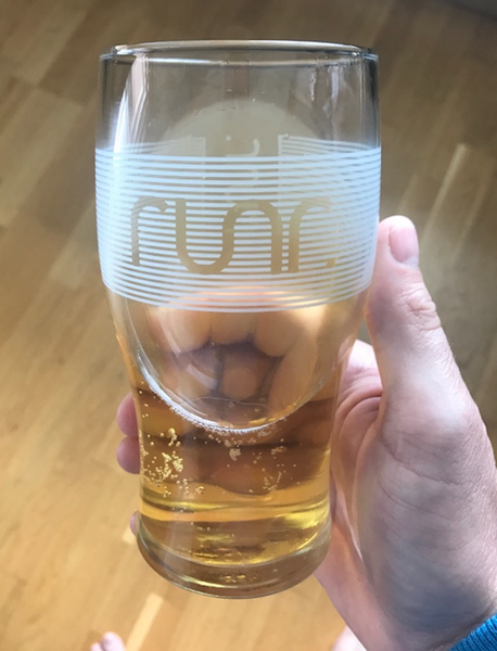 Runr Pint Glass