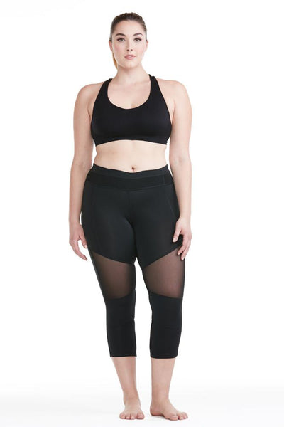 Electric Yoga - All Mesh Capri