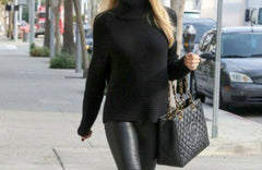 turtleneck with leggings